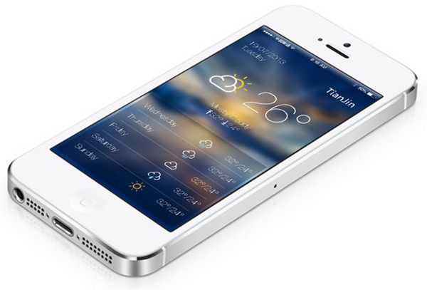 ios 7 WeatherAPP设计